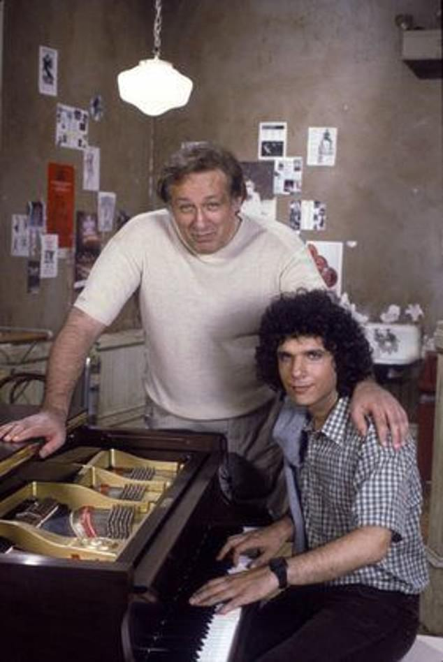 Medical care: After being hospitalized following a bad fall in April, Carmine fell ill with pneumonia (pictured with Lee Curreri in Fame 1984)