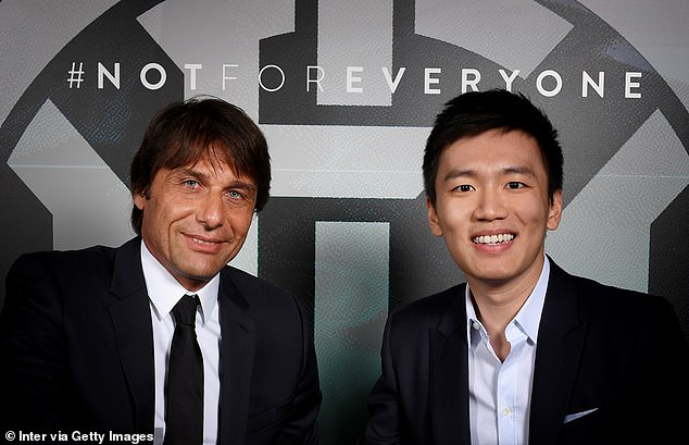 Former Chelsea manager Antonio Conte was appointed Inter's new boss on Friday morning