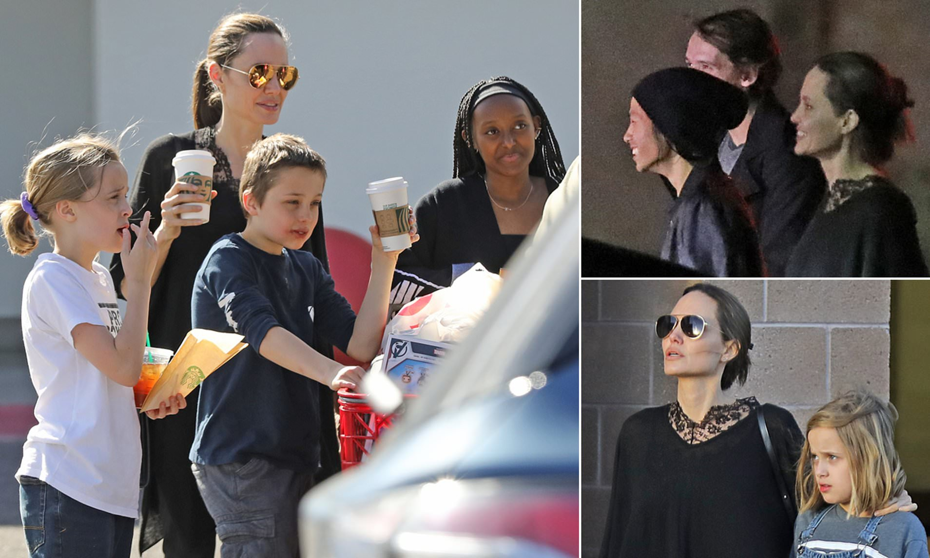 Angelina Jolie Moves Her Brood To Albuquerque New Mexico To Shoot