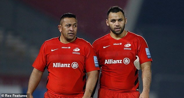 Brothers Mako (left) and Billy Vunipola are crucial players for both Saracens and England