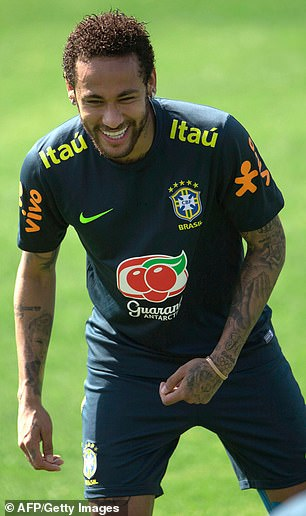 Neymar is in Brazil preparing for the Copa America starting next week. He arrived at the Granja Comary training ground outside Rio de Janeiro 10 days after the alleged incident