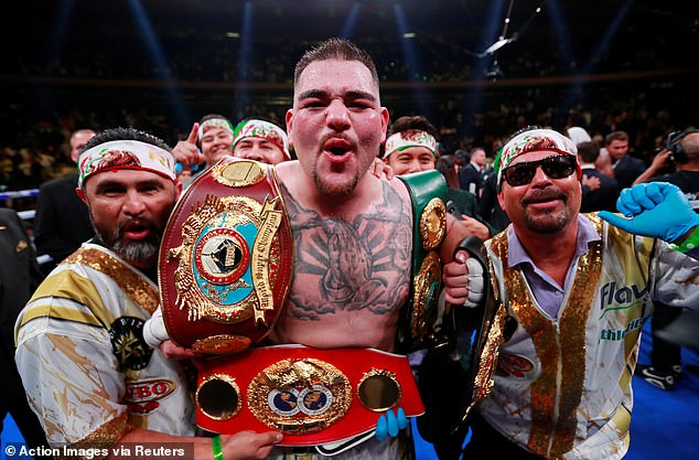 Ruiz Jnr's victory saw him become the first ever Mexican heavyweight world champion