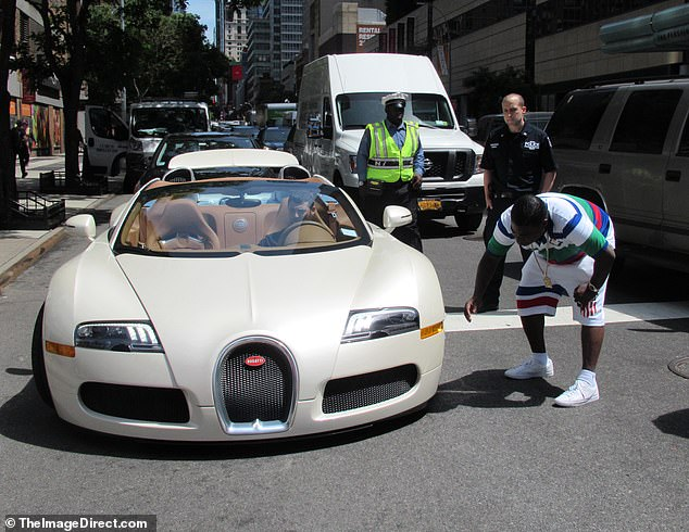 TMZ reported that he'd driven it out of the lot for the first time just 15 minutes earlier