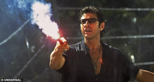 What's up, doc?Goldblum joined them as chaos theorist Dr Ian Malcolm