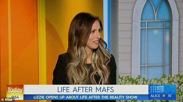 'I just heard about it and I have no idea...': On Wednesday, Elizabeth Sobinoff bizarrely appeared on Today Extra to discuss a non-existent TV show
