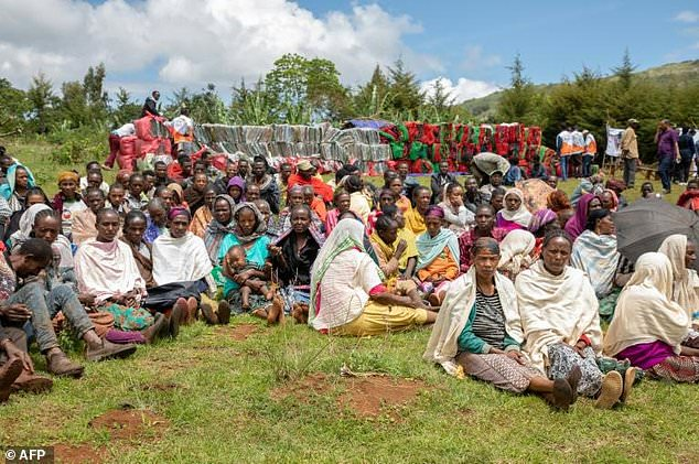 More than a million people have been displaced due to ethnic conflict in southern region of Gedeo state and west region of Oromia state