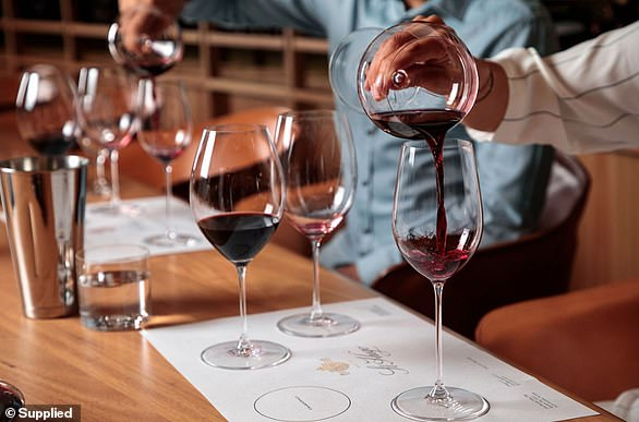St Hugo Wines partnered with master stemware brand Riedel, who create specific glasses for Riesling, Chardonnay, Shiraz and Cabernet Sauvignon