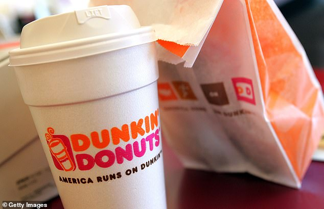 Customers who ordered food or beverages from a Dunkin' Donuts in Turnersville, New Jersey, between May 18 and June 1 may have been exposed to hepatitis A after an employee tested positive (file image)