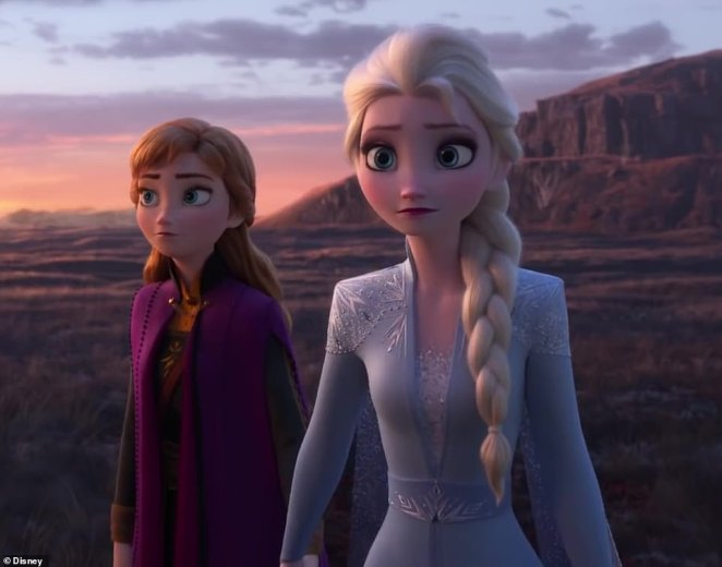 First look! The new trailer for Frozen 2 was released on Tuesday