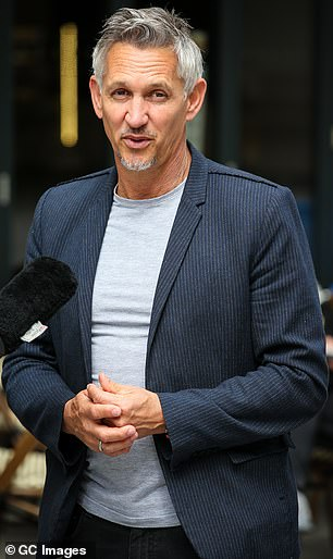 Gary Lineker trousered about £1.76 million to present football highlights