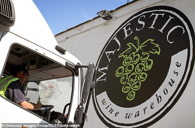 Shutting up shop: Majestic Wine is in the process of selling off its 200 UK stores
