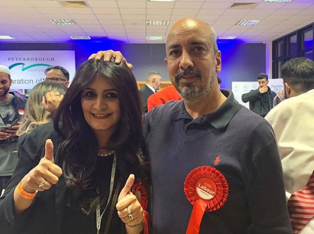 Why was this man helping Labour candidate scrape to victory? | Daily Mail  Online