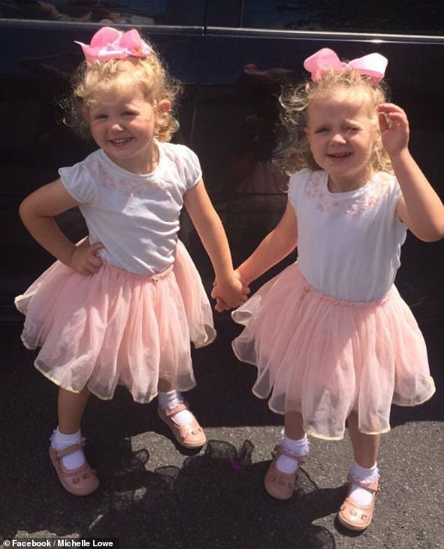 Michelle Lowe's daughters. One of them particularly doesn't like her hair being combed, and trying to detangle her hair would always end in tears