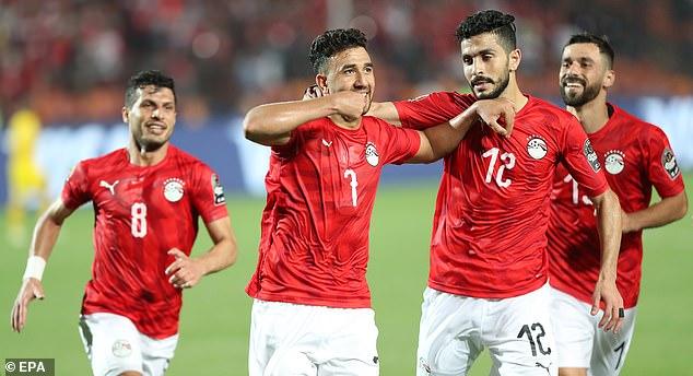 Trezeguet scored the only goal of the game as Egypt narrowly beat Zimbabwe 1-0