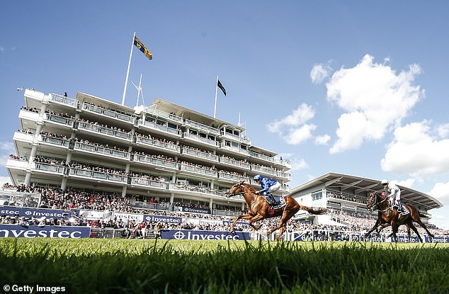 James Doyle's mount has not raced since his win at Epsom last June, 385 days ago