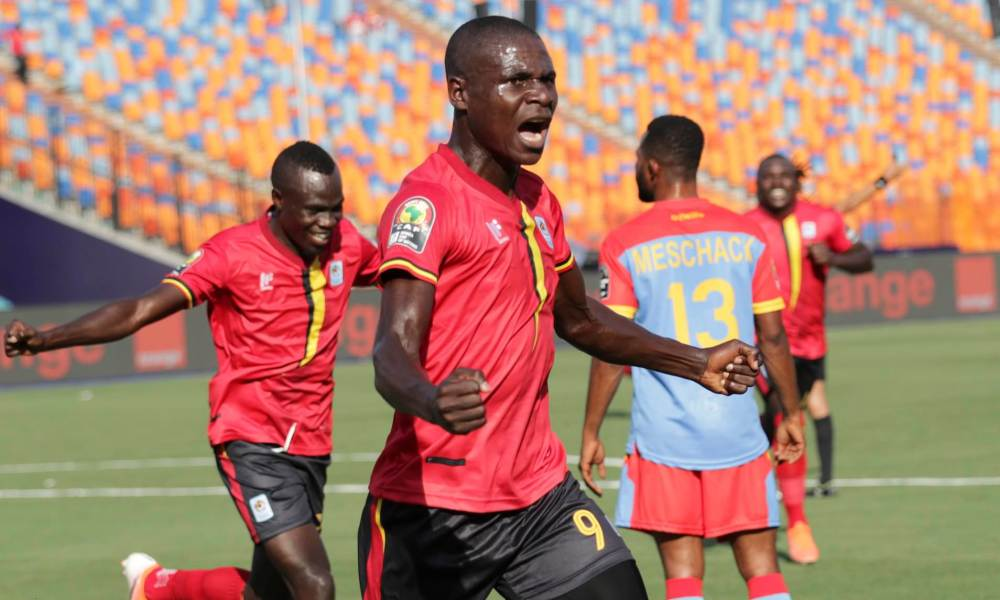 DR Congo 0-2 Uganda: Patrick Kaddu and Emmanuel Okwi headers give Uganda  victory   Daily Mail Online