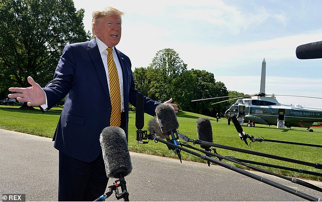 Just hours earlier, Trump had insisted that the raids would go forward while speaking with reporters on the South Lawn of the White House