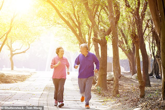 If you have been exercising for only two and a half hours a week in recent years, you will be less likely to die prematurely, even if you have been inactive all your life