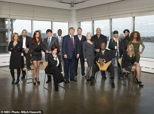 Former boss: In 2009-2010, the 67-year-old Talk co-host (5-L) was 'fired' by Trump in week 10 of the third season of the NBC Celebrity Apprentice
