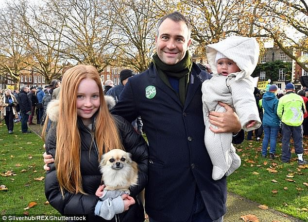 Iris (pictured with her father) was the first child of environmentalist and boss Ben and his former wife Kate who are understood to have a joint fortune of over £ 300million