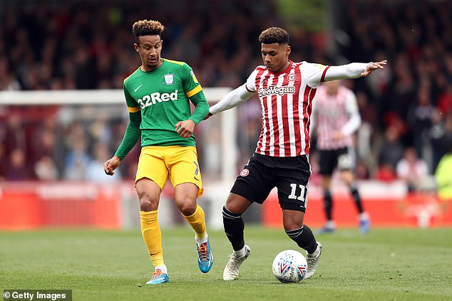 Norwich City are understood to have offered £6m for 24-year old Robinson (left)