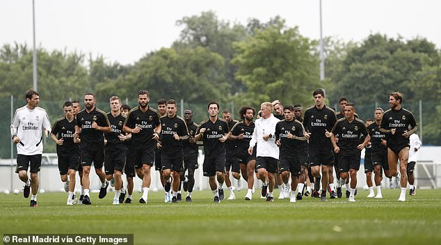 Zidane has now handed first-team responsibilities over to his No 2 David Bettoni