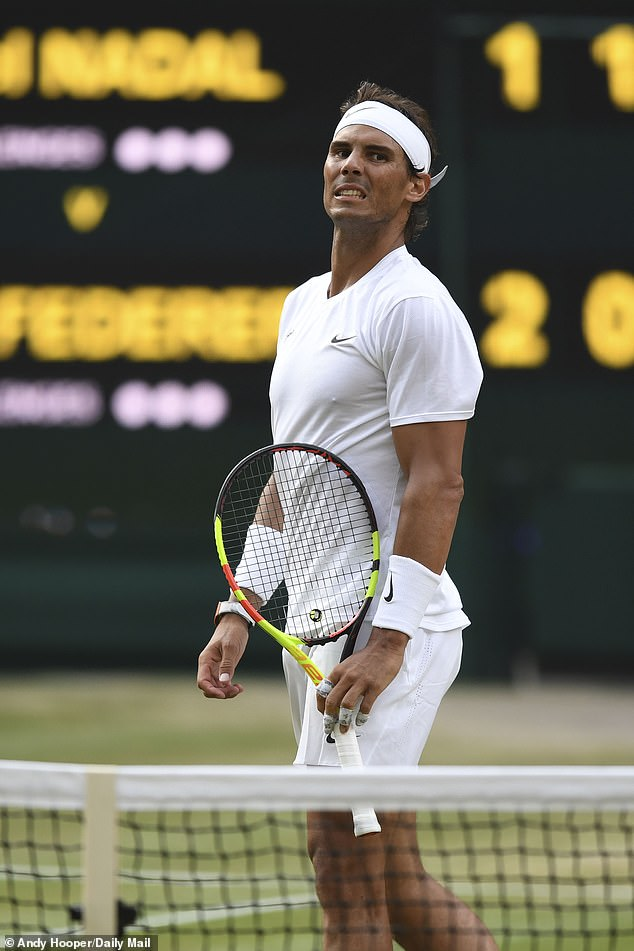 Momentum shifted against Nadal though and two early breaks saw him lose sets three and four