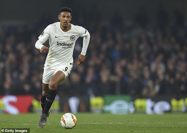 West Ham are expected to conclude the £36million signing of Sebastien Haller imminently