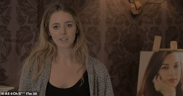 Emily Hartridge hosted her own mock funeral for a Channel 4 show which aired in 2016
