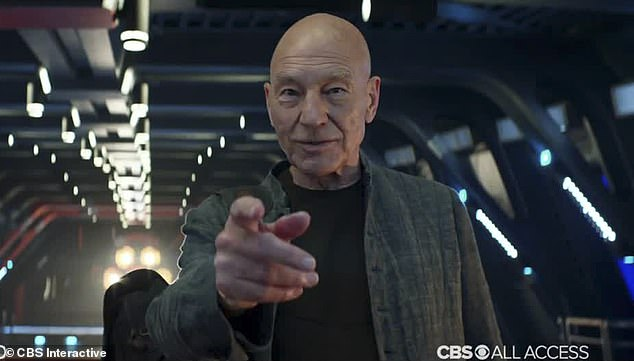 There he is! Sir Patrick Stewart made his intergalactic comeback in the breathtaking new trailer for Star Trek: Picard released at San Diego Comic-Con on Saturday