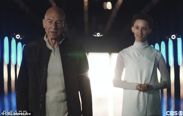 Yearning: 'These past few years, I¿ve really tried to belong here,' Picard says in the trailer