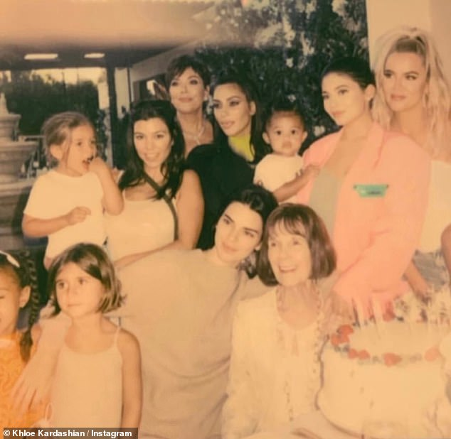 A big day: Saturday, Khloe Kardashian went to Instagram Stories to share a celebratory family day to honor her grandmother Mary Jo Campbell's birthday. She will be turning 85 next Friday