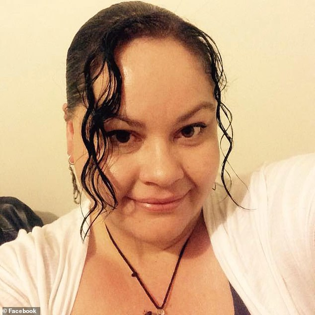 Marie Wanless, 42, risks being thrown in jail if she is caught stepping foot inside any retail outlet in Gunnedah, in rural New South Wales