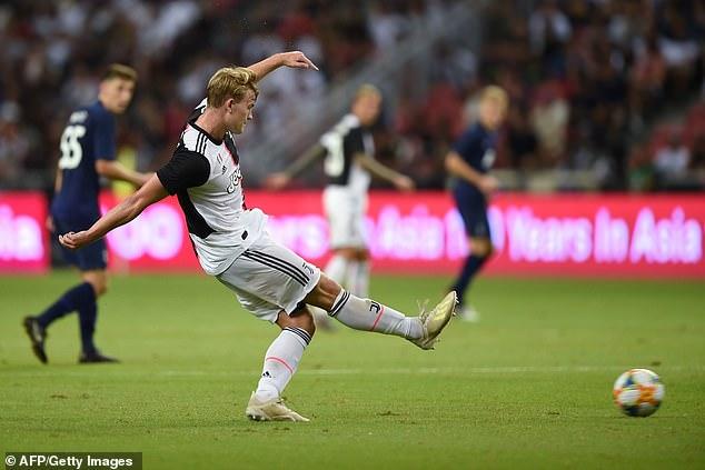 Matthijs De Ligt's arrival goes against Juventus' convention of bringing through defenders