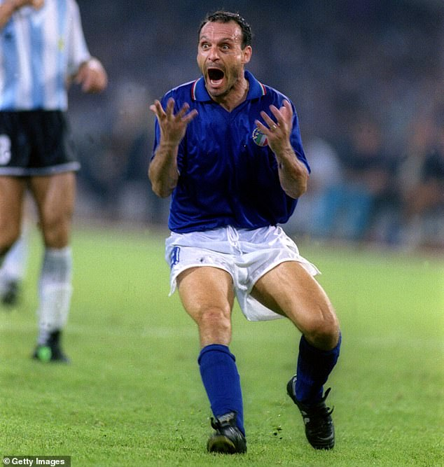 Italy and Juventus striker Schillaci comparedMaifredi's man-management to that of a donkey