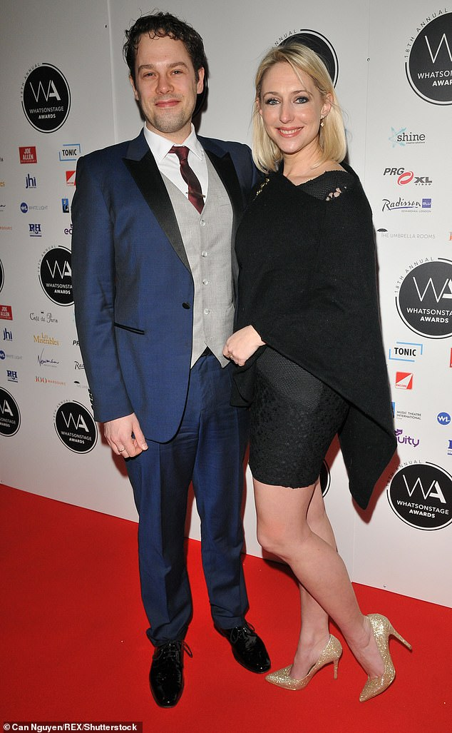 Love and marriage: Earlier this year, the Hollyoaks star gushed over her 'lovely' marriage to actor David thanks to their 'mutual understanding' over busy schedules