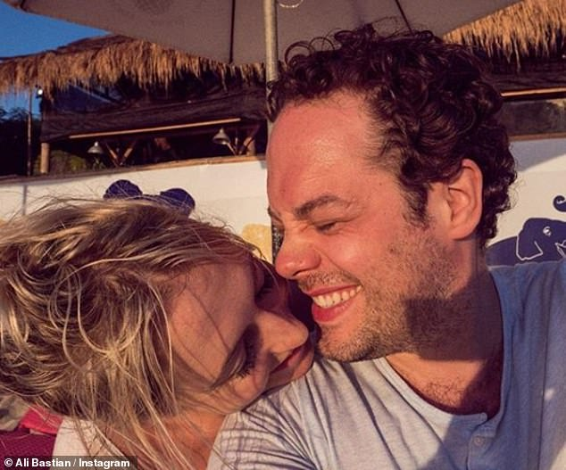 Together again: Of spending time with her actor husband, she said, 'I have a little bit of time at the moment which is lovely... and we¿ve had a little bit of time to regroup which is really good'
