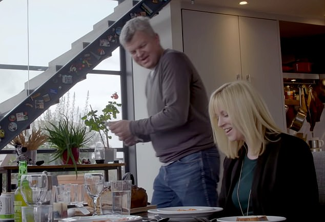 'Very keen': Adrian Chiles and Rosie Duffield in the Panorama TV programme