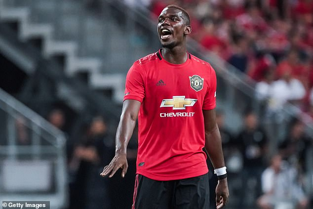 Real Madrid have tabled a bid of £145million to sign Manchester United star Paul Pogba