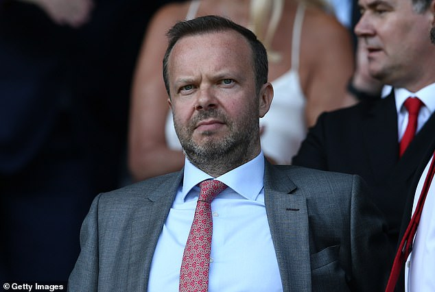 United executive chairman Ed Woodward has been negotiating with Leicester this summer