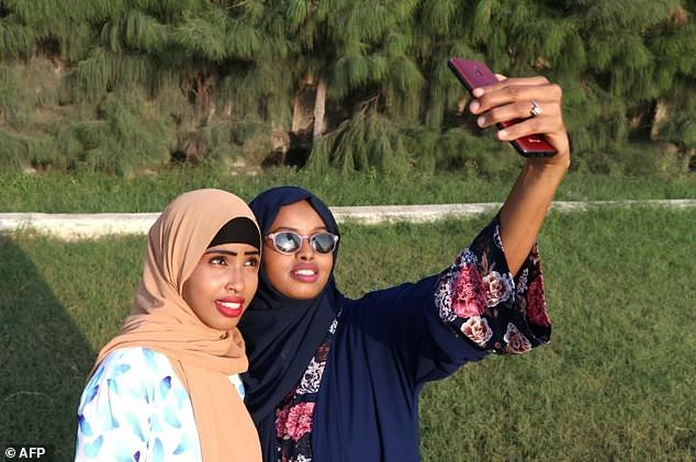 The Somali designers' customers are mostly young, like them, and affluent.