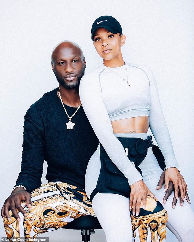 Image result for lamar odom new girlfriend