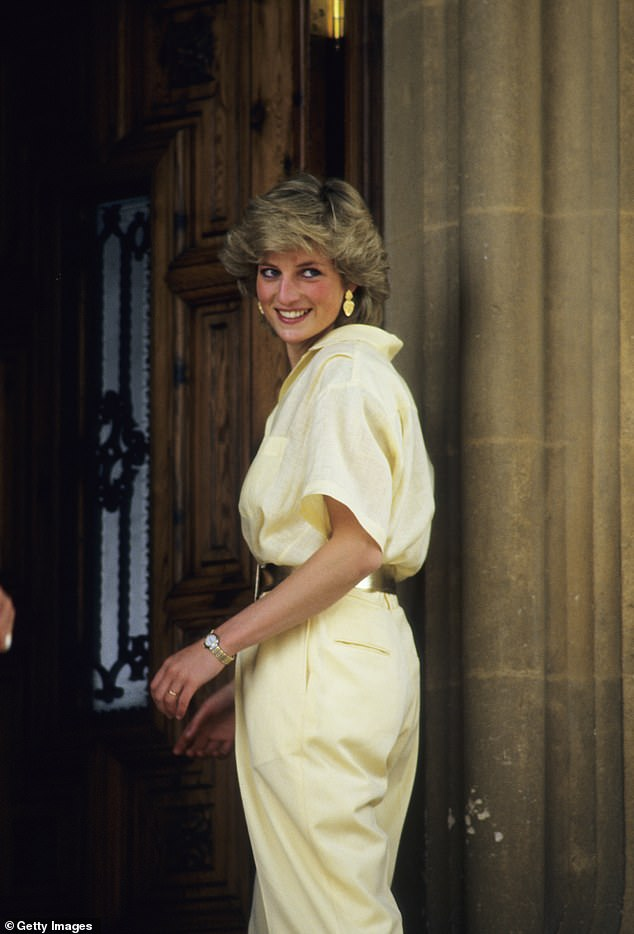 Diana, Princess of Wales pictured on holiday in Majorca, Spain on August 10, 1987