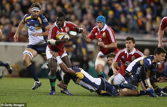 He also represented the British and Irish Lions during their Australia tour of 2013