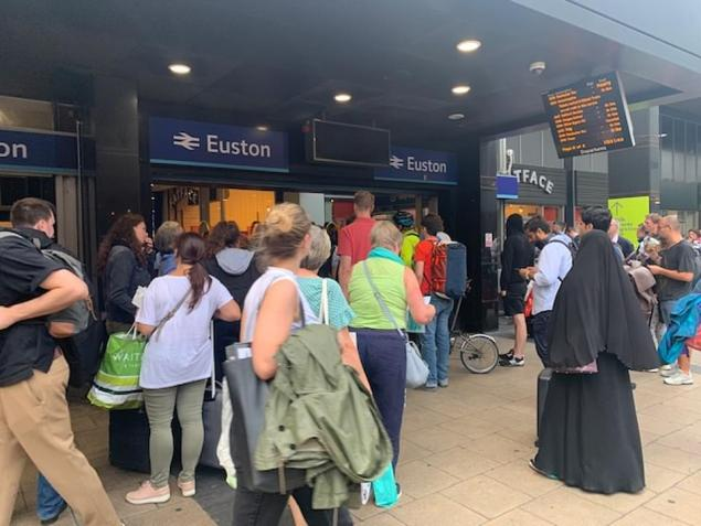 There were reports of major delays across the rail network in London following the power outage this afternoon