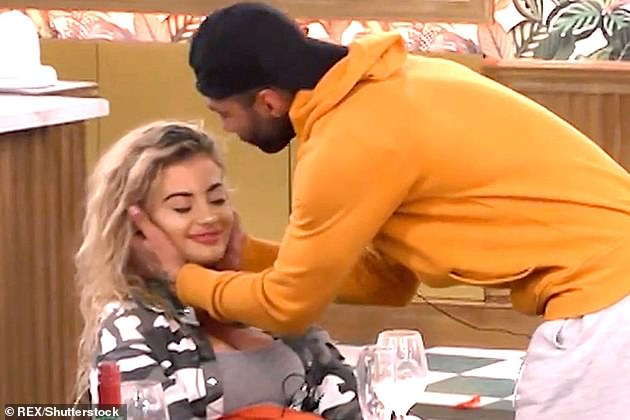 Heartbreaking:Jermaine - who wed Alice in 2014 - failed to mention he was married when he flirted with 22-year-old model Chloe on CBB last year (pictured together)