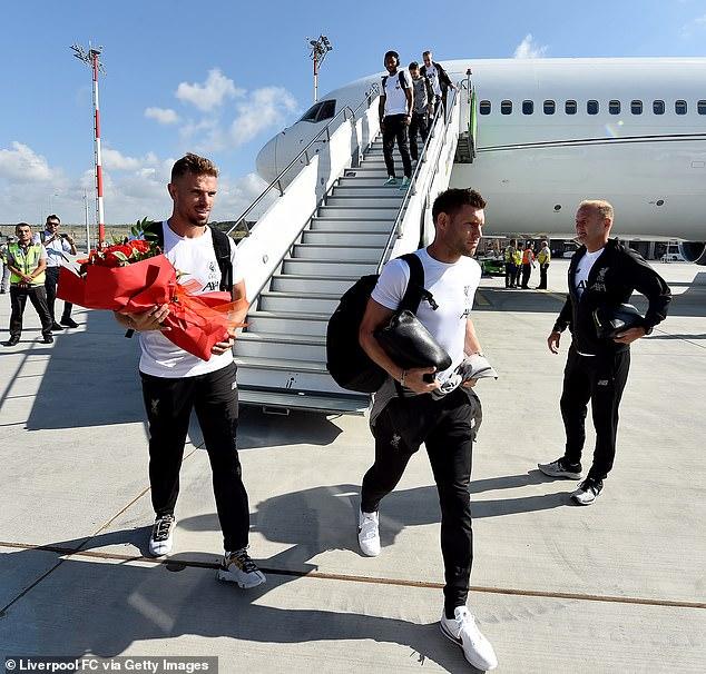 Uefa Super Cup: Liverpool Stars Arrive In Turkey As Jurgen Klopp's Men Bid