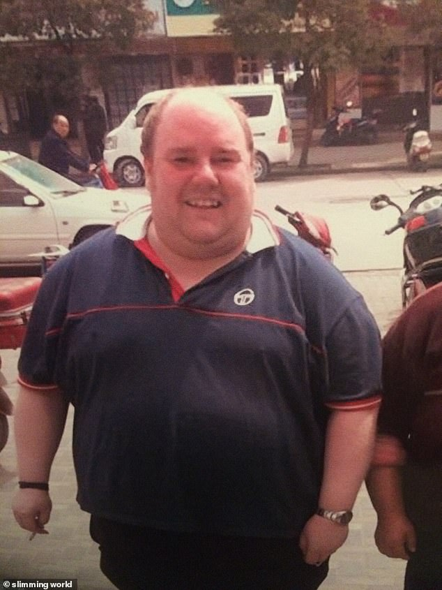 The care worker revealed he was inspired to change after taking a trip to China, when he said everyone stared at him