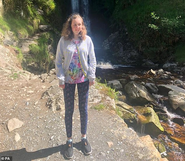 Nora (pictured) was discovered dead yesterday next to a waterfall she had spoken excitedly about visiting