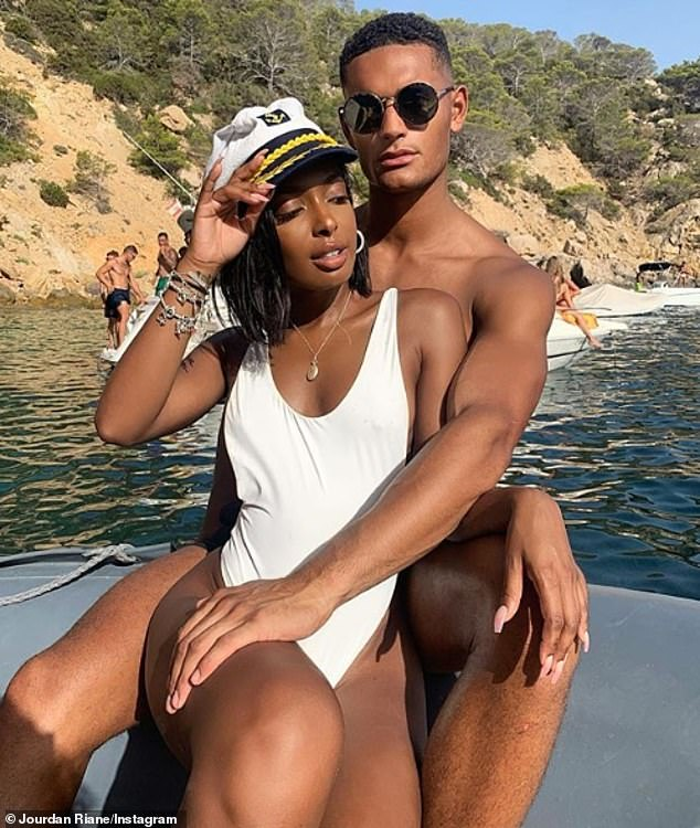 Moving in: On Tuesday, it was reported that Jourdan and Danny had decided to take their relationship to the next level following their whirlwind romance